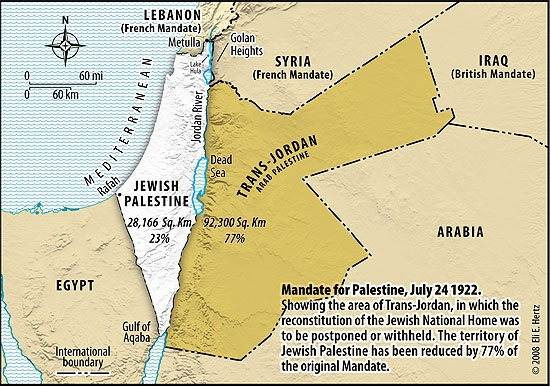 Image result for palestine map 1922 1920